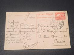 EGYPTE - Entier Postal De Tantah Pour Paris En 1910 - L 10828 - Égypte
