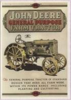 CPM - PUB MATERIEL AGRICOLE - TRACTEURS JOHN DEERE - Edition Centenaire - Werbepostkarten