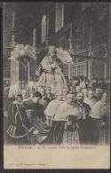 CPA - ROME - S.S.LEONE XIII IN SEDIA GESTATORIA - Edition P.Becchini - Popes