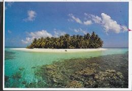MALDIVES - ATOLLO - VIAGGIATA DA MALE' 1984 - Maldive