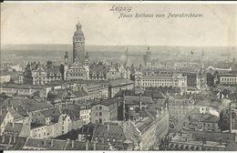 LEIPZIG , Neues Rathaus Vom Peterskirchturm , 1906 - Leipzig