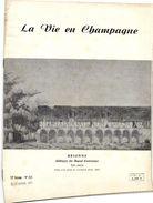 Revue La Vie En Champagne    BRIENNE  ABBAYE DE BASSE FONTAINE  //  HORLOGE DE L'EGLISE DE CHAOURCE - Non Classés