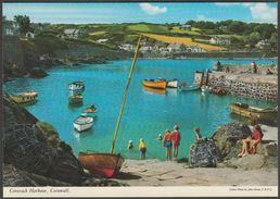Coverack Harbour, Cornwall, C.1980s - John Hinde Postcard - England