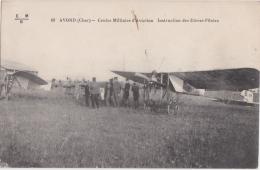 Bl - Cpa AVORD (Cher) - Centre Militaire D'Aviation - Instruction Des Elèves Pilotes - Aerodromes