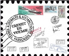 TAAF - Carnet De Voyage - Neuf - Serge Marko - Sans Les Timbres - Booklets