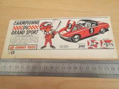 Page De Revue Des Années 60/70 : PUBLICITE  CORGY TOYS  LOTUS ELAN S2  Format  VOIR REGLE SUR PHOTO - Corgi Toys