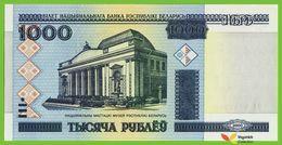Voyo BELARUS 1000 Rubels 2000(2012) P28b B128b Prefix ZA(ЗА) UNC - Belarus