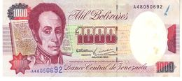 Venezuela P.73c 1000 Bolivares 1992 Au - Venezuela
