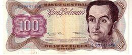 Venezuela P.55e 100 Bolivares 1978 Vf - Venezuela