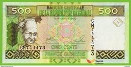 Voyo GUINEA 500 Francs 2006 P39 B328a Prefix GM UNC Industry - Guinea