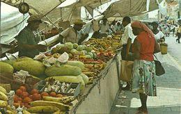"""Curacao (Netherlands Antilles, Antille Olandesi) """"Schooner Market"""" Offering Fruits And Vegetables - Curaçao"""