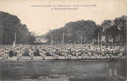 Bourg En Bresse Concours Gymnastique 1909 - Bourg-en-Bresse