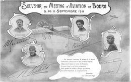Bourg En Bresse Aviation Meeting 1911 Vidart Kimmerling Berlot Mouthier - Bourg-en-Bresse