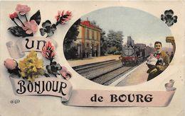 Bourg En Bresse Bonjour Train Passe Partout - Bourg-en-Bresse
