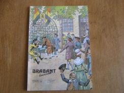 BRABANT Revue N° 4 1989 Régionalisme Brabant Wallon Sablon Napoléon Ramillies Bistrot Bruxelles Saint Josse Saint Géry - België