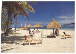 (PH 101) Fiji Plantation Island Resort   (with Stamp At Back Of Card) - Fidji