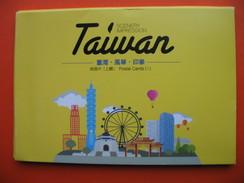 Taiwan-11 Postcards - Taiwan