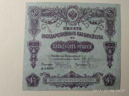 Obbligazioni 50 1914 - Russia