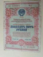 Obbligazioni 25 1954 - Russia