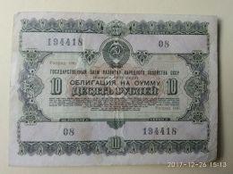 Obbligazioni 10 1955 - Russia