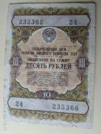 Obbligazioni 10 1957 - Russie