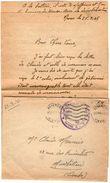 VP11.827 Guerre 39 / 45 - Lettre Avec Franchise Militaire Du Brigadier MEUNIER Au 64 ème R.A.A à NEVERS Pour MONTBELIARD - Documents