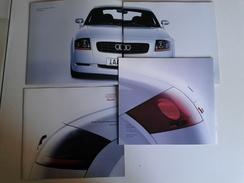 Dep002 Depliant Advertising Audi TT Roadster 1999 Schede Tecniche Motore Auto Sportiva Turbo Interni Colori - Automobili