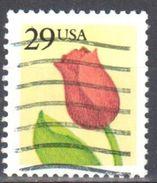 United States 1991 Flower - Sc # 2524 - Mi 2125 A - Used - Etats-Unis