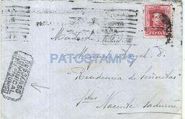 84059 SPAIN ESPAÑA COVER DESCANSO MUNICIPAL YEAR 1929 MARCA POSTAL NO POSTCARD - Sin Clasificación