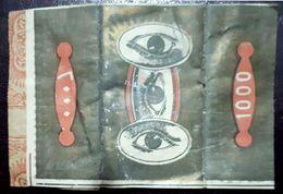 Turkey,Ottoman,PAPER OF CIGARETTES #1916 Eyes,VF.. - Cigarette Holders