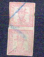 AD Mecklenburg - Schwerin  2 X 1/4  Entwertet   (  N  9381  ) - Mecklenburg-Schwerin