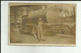 94 - Val De Marne - Vincennes - Carte Photo - Camion Ets.Gaudermen/ Pesin - Vins - 15 Rue Daumesnil - - Vincennes