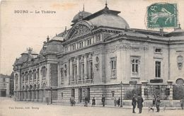 Bourg En Bresse Théâtre Chasseur Avec Fusil - Bourg-en-Bresse