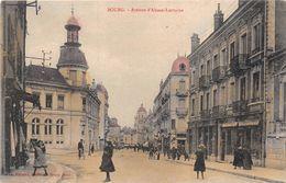 Bourg En Bresse Poste Ferrand Colorisée - Bourg-en-Bresse