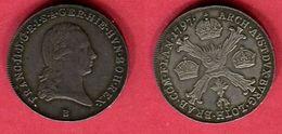 § FRANCOIS II 1/4 THALER    (KM 203  ) TTB 118 - [ 2] 1795-1814 : Protectorado Francés & Napoleónico