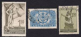 Argentina 1955 - 3 Values Used  [Scott 645,647,648 ] - Argentinië