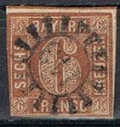 Sello 6 K Bayern, Mühlradstempel  143, IMMENSTADT, Num  5 º - Bavaria