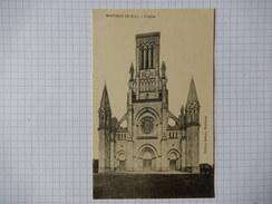 CPA - (49) - TRES RARE - MONTJEAN - L'EGLISE - EDIT DEHAIS MONTJEAN -  R10239 - France