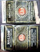 Turkey,Ottoman,2 PAPER OF CIGARETTES,Two Different Forms  #1915 Botton,VF.. - Cigarette Holders