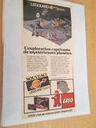LEGOLAND SPACE LEGO  ... PUBLICITE  Page De Revue Des Années 70/80 Plastifiée Par Mes Soins , - Catalogs