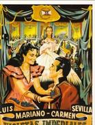 CPM Affiche De Film Spanish Posters VIOLETAS IMPERIALES Luis MARIANO, Carmen SEVILLA - Affiches Sur Carte
