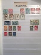 LOTS  - Albanie _  Allemagne -  + De 700 Timbres, Neuf Ou Oblitérés - Collections (en Albums)