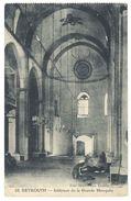 Cpa Liban, Beyrouth, Intérieur De La Grande Mosquée - Liban