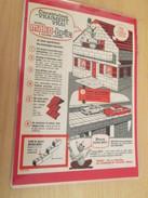 MAKO MAKO-BRIK JEU DE CONSTRUCTION .. PUBLICITE  Page De Revue Des Années 70 Plastifiée Par Mes Soins , - Other Collections