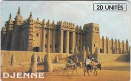 Mali, MAL-O-21, 20 Units Djenne, 2 Scans. - Mali