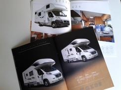 Dep013 Depliant Advertising Camper Mobilvetta Design McLouis Mobil-home Campeggio Turismo Camping Tourism - Camping