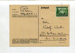 Deutsches Reich / 1943 / Mi. 858 EF A. Brief O Wiesbaden (01629) - Germany