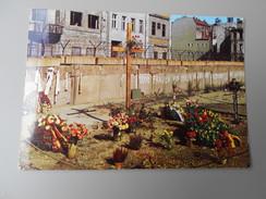 ALLEMAGNE BERLIN MEMORIAL PETER FECHTER ET CHECKPOINT CHARLIE - Mitte