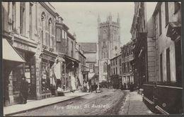 Fore Street, St Austell, Cornwall, C.1910 - Valentine's Nu-Vu RP Postcard - England
