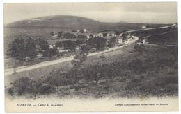 Cpa Tunisie -  Bizerte - Camp De La Zouaz - Tunisie